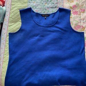 Ming Wang blue tank top size XL